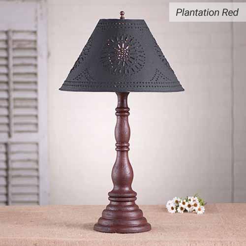 Davenport Lamp in Plantation Red