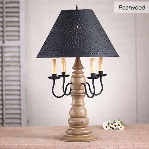 Bradford Lamp in Americana Pearwood