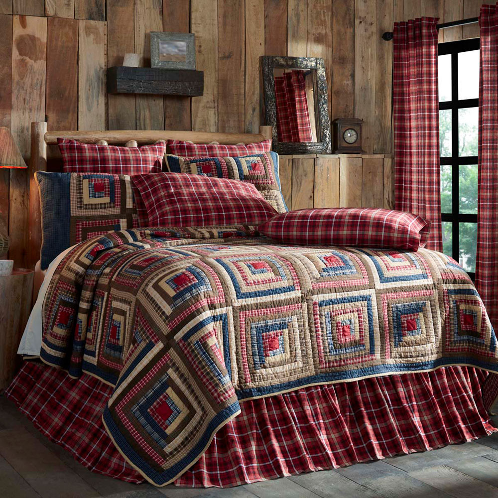 Braxton Queen Americana Quilt By Vhc Brands
