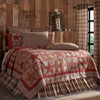 Dawson Star Luxury King Quilt Side