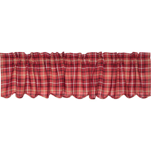 Braxton Scalloped Valance