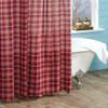 Braxton Shower Curtain Closeup