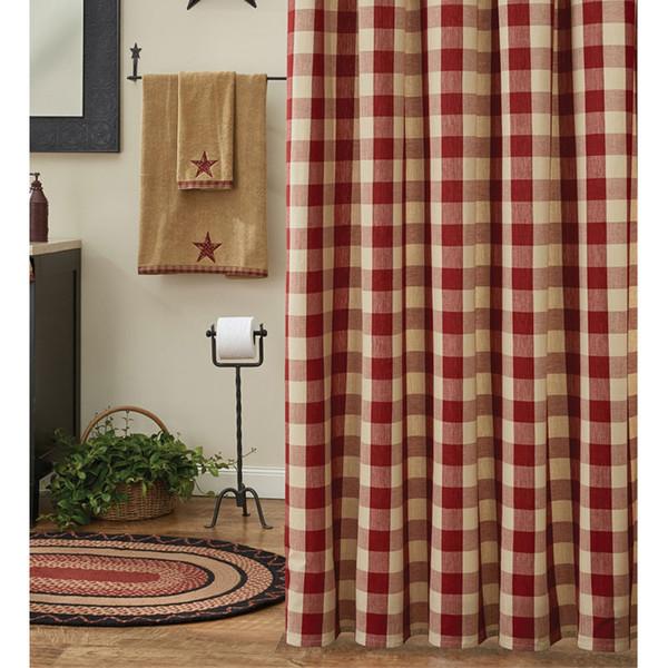 Wicklow Garnet Shower Curtain