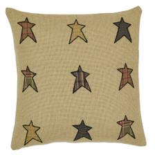 "Stratton Applique Star 16"" Pillow"