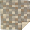Sawyer Mill Luxury King Quilt Flat