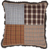"""Rory Patchwork Pillow 18"""" x 18"""" - Front"""