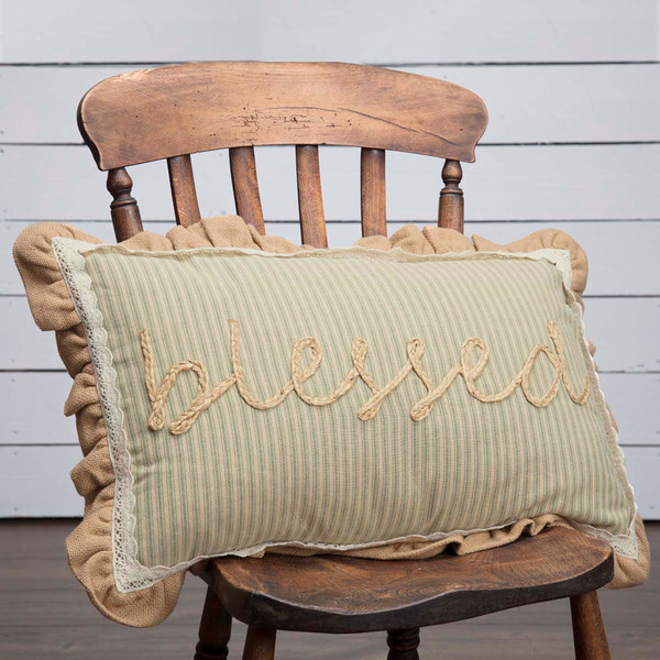 Prairie Winds Blessed Pillow