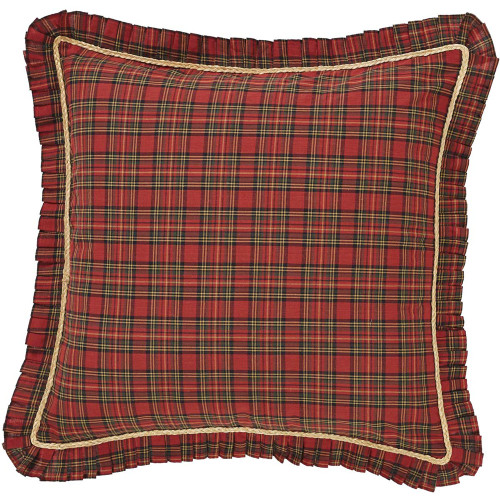 Tea Star Fabric Euro Sham - Front