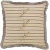 Sawyer Mill Fabric Euro Sham - Reverse