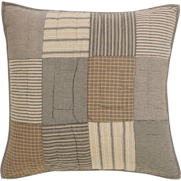 Sawyer Mill Quilted Euro Sham - Front