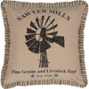 "Sawyer Mill Windmill Pillow 18"" x 18"" - Front"