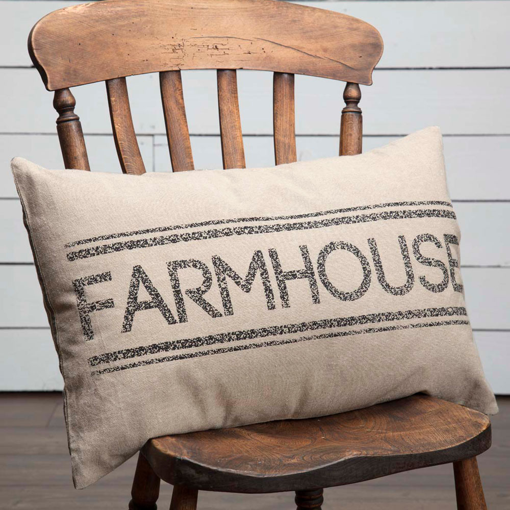 Sawyer Mill Farmhouse Filled Pillow 14 Quot X 22 Quot By Vhc Brands