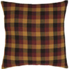 Primitive Check Fabric Pillow 16 x 16 - Front
