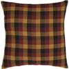 Primitive Check Fabric Pillow 16 x 16 - Front