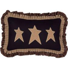 """Primitive Stars Pillow 14"""" x 22"""" - Front"""