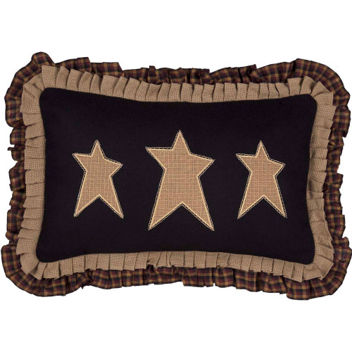 "Primitive Stars Pillow 14"" x 22"" - Front"