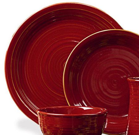 Aspen Red Dinner Plate