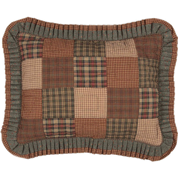 Crosswoods Quilted Standard Sham