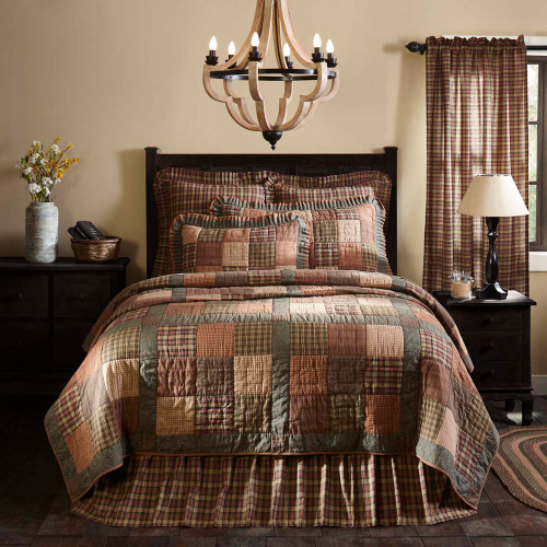Crosswoods King Quilt