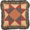 "Maisie Patchwork Fabric Pillow 18"" x 18"""
