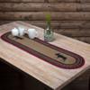 Cumberland Jute Oval Table Runner