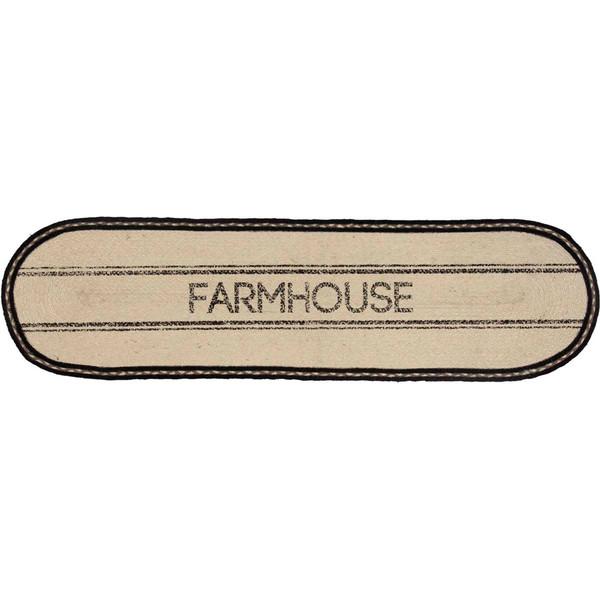 Sawyer Mill Farmhouse Jute Oval Table Runner