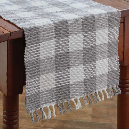Wicklow Yarn Table Runner - Dove