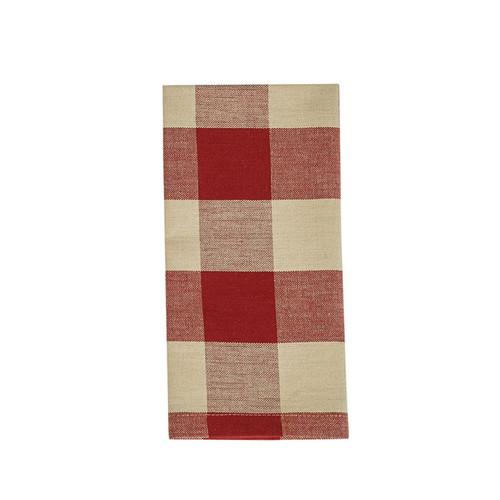 Wicklow Napkin Set - Garnet Red