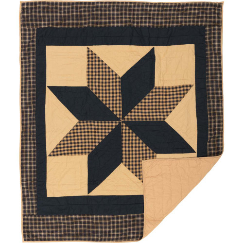 Dakota Star Quilted Throw