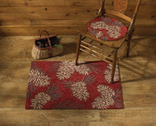 Pinecone Hand-Hooked Rug