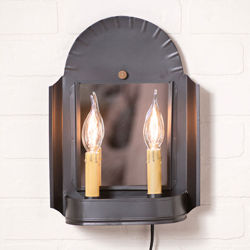 Innkeeper's Sconce - Smokey Black