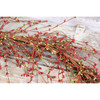 "48"" Primitive Red & Green Pip Berry Garland"
