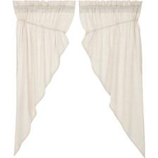 Simple Life Flax Natural Prairie Curtain