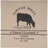 Sawyer Mill Cow Shower Curtain