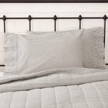 Hatteras Seersucker Blue Pillowcase Set