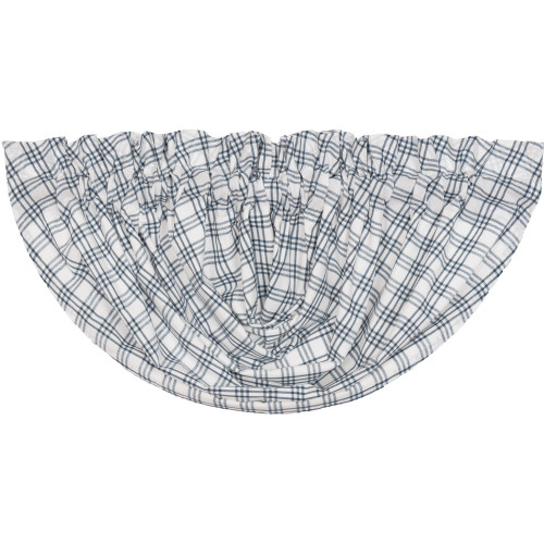 Sawyer Mill Blue Plaid Balloon Valance