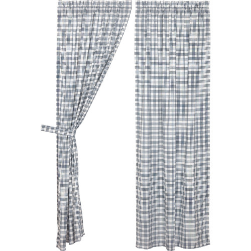 Sawyer Mill Blue Plaid Panel Set