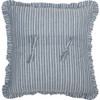 "Sawyer Mill Blue Windmill Pillow 18"" x 18"" - Reverse"