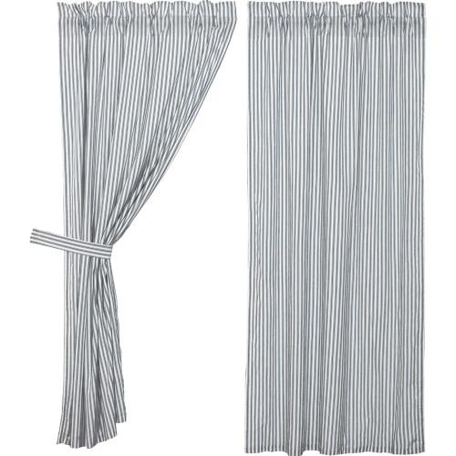 Sawyer Mill Blue Ticking Stripe Short Panel Set