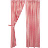 Annie Buffalo Red Check Panel Set