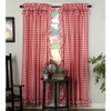 Annie Buffalo Red Check Ruffled Panel Set