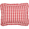 Annie Buffalo Red Check Standard Sham