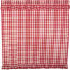 Annie Buffalo Red Check Shower Curtain