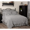Annie Buffalo Black Check Quilt Coverlet