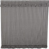 Annie Buffalo Black Check Shower Curtain