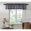 Annie Buffalo Black Check Valance