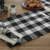 Wicklow Napkin Set - Black and Cream