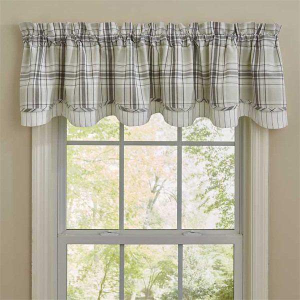 Collin Lined Layered Valance