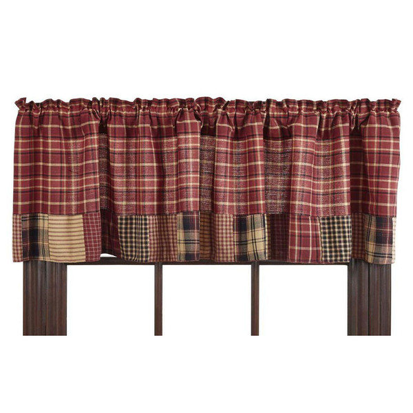 Rutherford Patchwork Valance