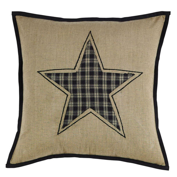 Revere Fabric Star Pillow Cover